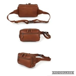 Dorado Leather Travel Waist Pack by Mosaic
